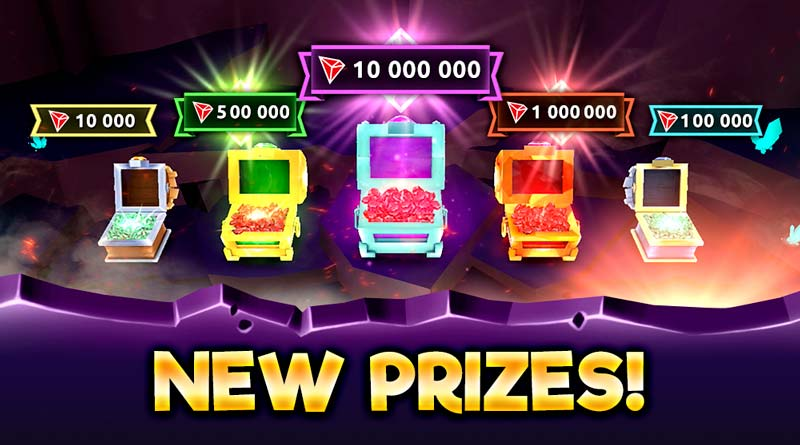 New jackpot prize 10 MM TRX 02 - friday news
