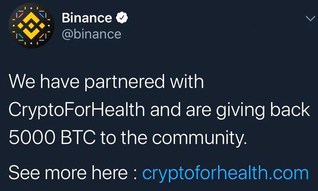twitter hacked - Binance