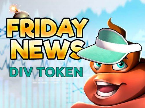 FRIDAY news - div token