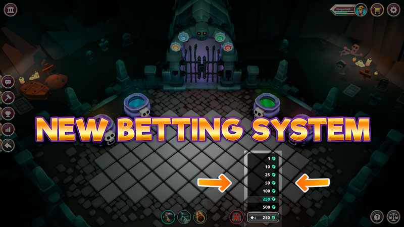FRIDAY news - new betting system