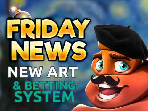 FRIDAY NeWs - new betting system and art