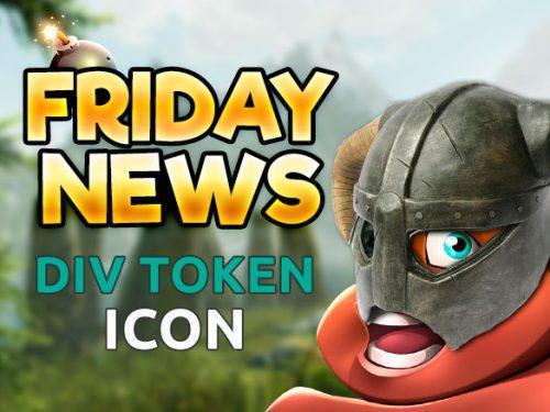 FRIDAY news - new div token icon