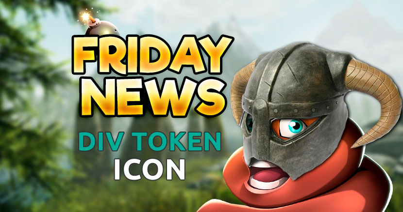 FRIDAY news - new div token icon