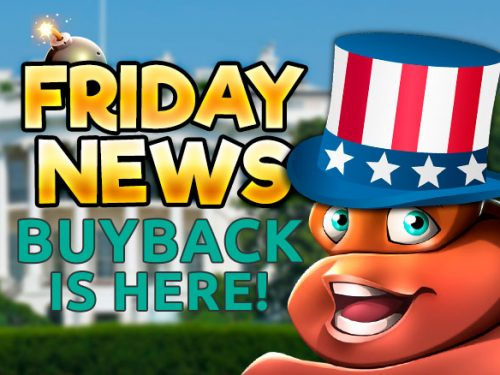 FRIDAY news - buyback is here